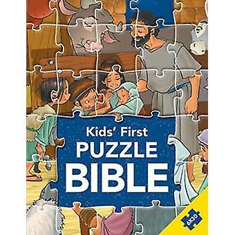 Kids' First Puzzle Bible by Gustavo Mazali - 9788772030005 Book