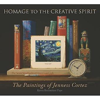 Homage to the Creative Spirit: The Paintings of Jenness Cortez