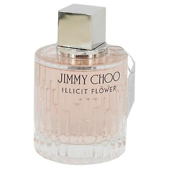 Jimmy Choo Illicit Flower Eau De Toilette Spray (Tester) By Jimmy Choo 3.3 oz Eau De Toilette Spray