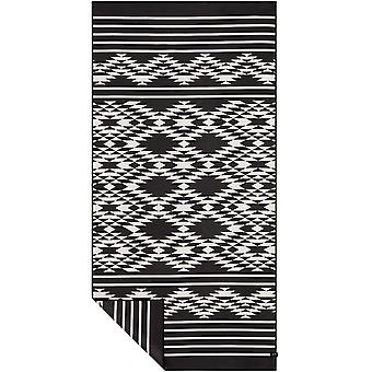 Slowtide Badlands Travel Beach Towel in  Black