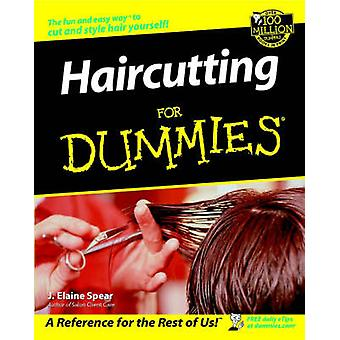 Haircutting For Dummies by Spear & J. Elaine