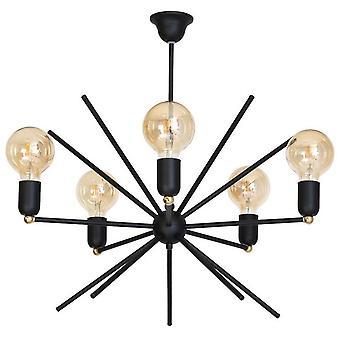 Lampe à pendentif Gemini en métal 58x58x60 cm