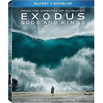 Exodus: Jumalat & Kings [Blu-ray] USA tuonti