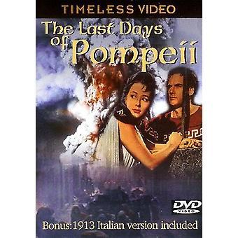 Sidste dage af Pompeji [DVD] USA importerer