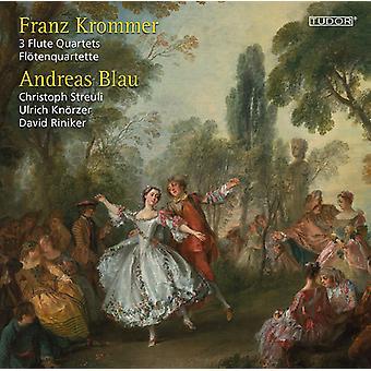 Krommer, F. / Blau, Andreas / Riniker, David - Franz Krommer: 3 Flute Quartets [CD] USA import