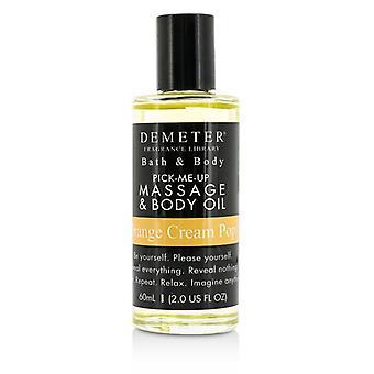 Demeter masaje Pop crema naranja y cuerpo 60ml / 2oz de aceite