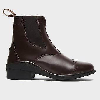 Brogini Women's Tivoli Zipped Riding Boots Brown