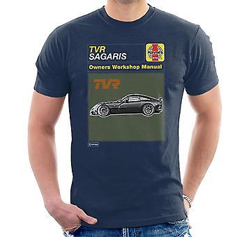 Haynes TVR Sagaris Workshop Handbuch Herren's T-Shirt
