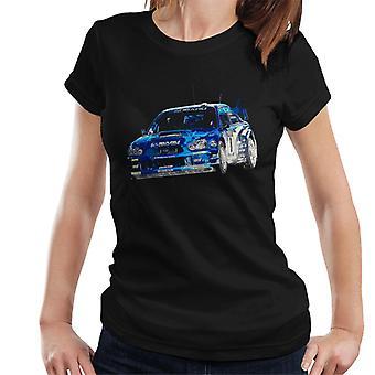 Motorsport Afbeeldingen Subaru Impreza WRC Women's T-shirt