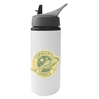 The Outer Worlds Spacers Choice Logo Aluminium Water Bottle With Straw