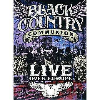 Black Country Communion - Live Over Europe [DVD] USA import
