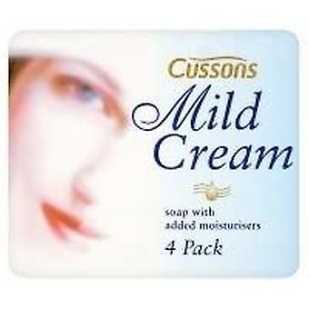 36 x Bars Cussons Mild Cream White Soap 90g Each
