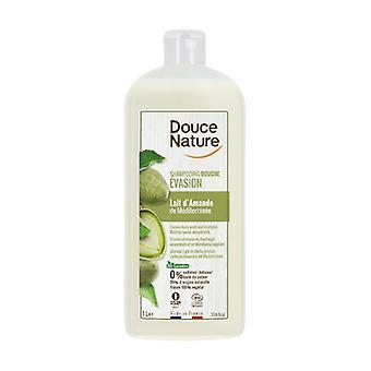 Almond Shower Gel Shampoo 1 L
