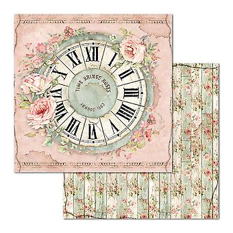 Stamperia Uhr 12 x 12 Zoll Papierblätter (10pcs) (SBB674)