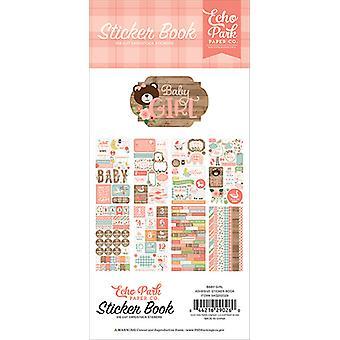 Echo Park Baby Girl Sticker Book