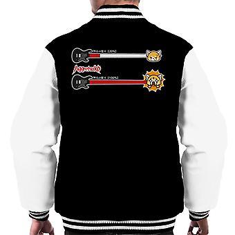 Aggretsuko Retsuko 100 Percent Rage Men's Varsity Jacket