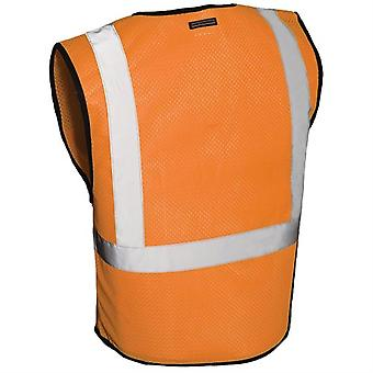 Vest conforme SS257P, ansi classe II - Orange (L-XL)