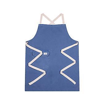 Chorlton denim bib apron - blue