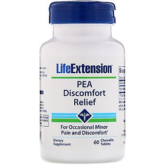 Lebensverlängerung, PEA-Beschwerden Relief, 60 Kautabletten