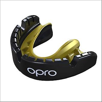 Opro ouro chaves gen 4 protetor bucal preto / ouro