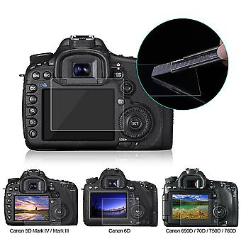 Screen Protector For Canon 5d Mark Iii, Iv, Eos, 6d, 7d, Tempered Glass Lcd