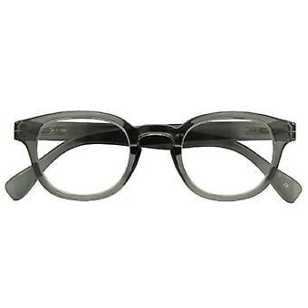 Reading glasses Unisex Montel grey thickness +2.50