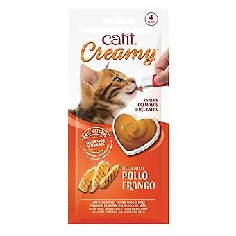 Catit Creamy Pollo (Cats , Treats , Chewy & Softer Treats )