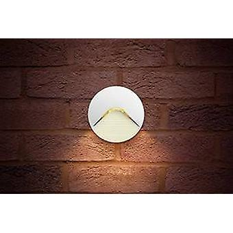 Outdoor LED Step Wall Light 2,2W 3000K 100lm IP65 - Wit