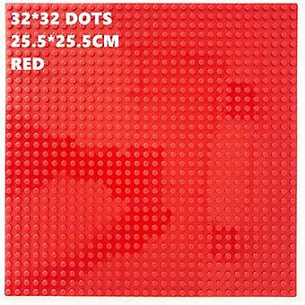 32*32 Dots Plastic Blocks Base Plates Pink Juguetes Compatible City Classic Toys - Mini Building Bricks Baseplates For Kids