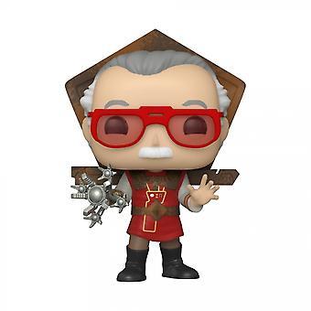 Marvel's Stan Lee vuonna Ragnarok Outfit Funko Pop!