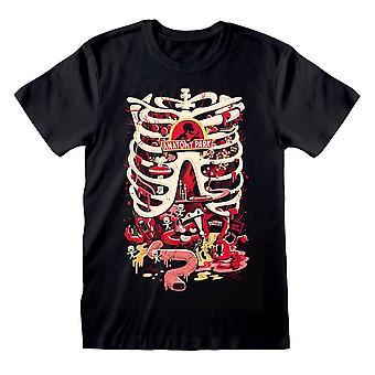 Män & apos, s Rick och Morty Anatomy Park Svart T-shirt