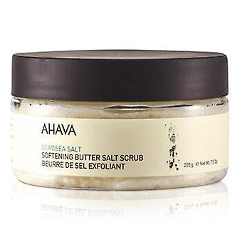 Deadsea Salt Softening Butter Salt Scrub 235ml or 8oz