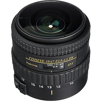 TOKINA AT-X 10-17MM F3.5-4.5 DX Fisheye (NH) - Canon