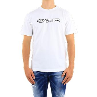 Moncler Ss T-Shirt White F20928C72310001 Top