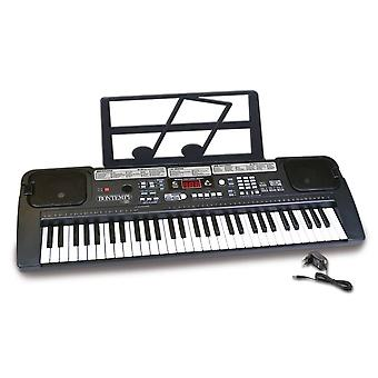 bontempi 61 midi key digital keyboard with 200 sound 200 rhythms 60 demo songs