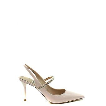 Miu Miu Ezbc057033 Women's Pink Patent Leather Sandals