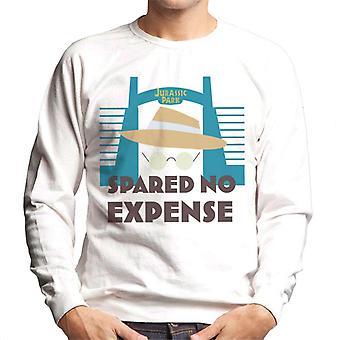 Jurassic Park Spared No Expense John Hammond Men's Sweatshirt