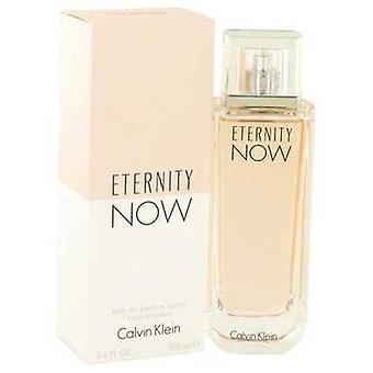 Eternity nyt Calvin Klein Eau de Parfum Spray 3,4 oz (naiset) V728-518700