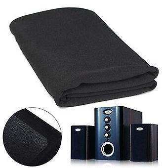 0.5*1.6M Speaker Mesh Dustproof Cover Cloth Black HIFI Accessories