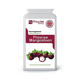 Pure Mangosteen 500mg 120 capsules | Suitable For Vegetarians & Vegans | Made In UK