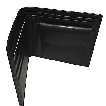 男牛革財布コイン財布、本物の革のシティジョギングバッグ