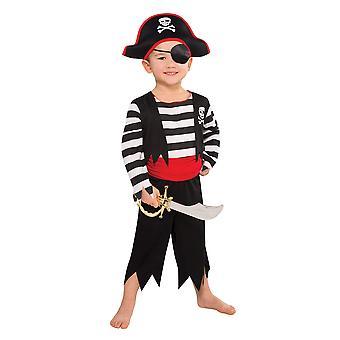 Amscan Kleinkind Schurke Deckhand Piraten Kostüm (3-4 Jahre) im Alter von 3-4 Jahren