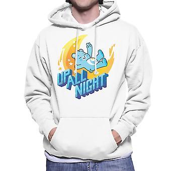 Care Bears Unlock The Magic Up All Night Men's Hooded Sweatshirt
