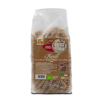 Ancient memory of organic whole timilia fusilli 500 g