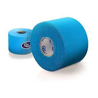Kinesiology (physiotherapy) tape blue 5cm x 5cm 1 unit
