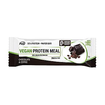 Barre de chocolat et café vegan Protein Meal None