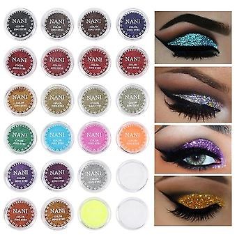 Makeup Pigment Eyeshadow Multi Chrome Eyeshadow Prismatic Powder Shiny Glitter