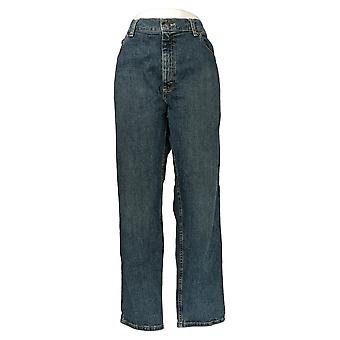 Lee Men's Straight Jeans 40x30 Classic Pocketed Blue