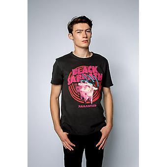 増幅されたブラック 安息日 パラノイド Tシャツ