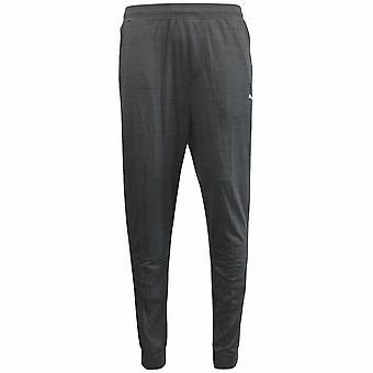 Puma Rebel DryCell Black Heather Polyester Mens Training Bottoms 514371 01 UA114
